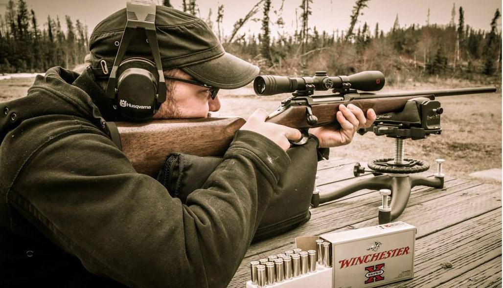 Adam at the Range