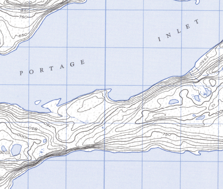 free topo map